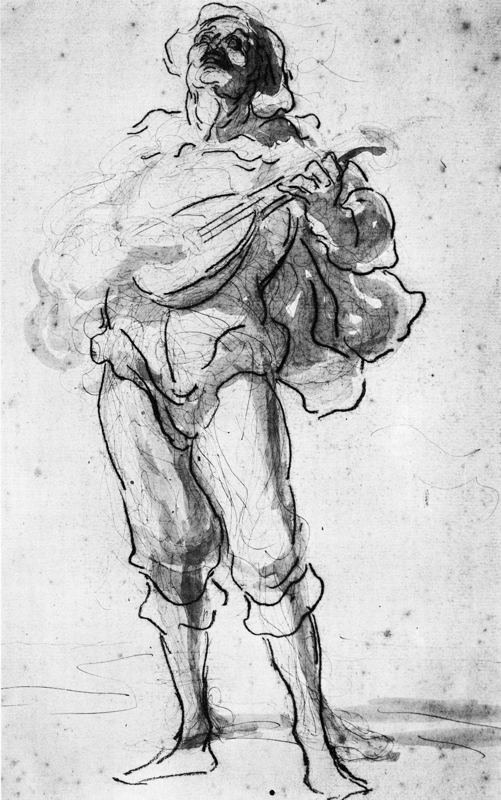tobacco factory drawing sessions  honor u00e9 daumier