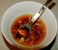 Chinese dumpling dip