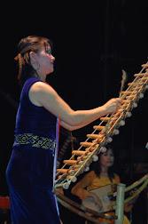 Vietnamese on sylophone