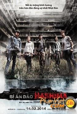 xem phim Bí Ẩn Đảo Hashima - Hashima Project (2014) full hd vietsub online poster