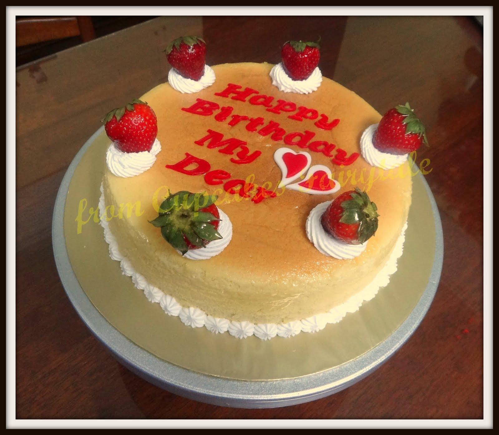 Cupcakes Fairytale: MRS CHIU'S BIRTHDAY CAKE