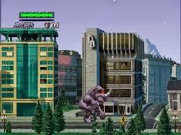 game online rampage 2 universal tour PS1 tanpa emulator