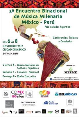 II Encuentro Binacional de Música Milenaria, México-Perú