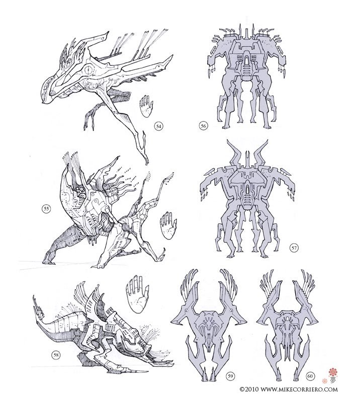 Creature And Character Design Book : Character and creature design notes for