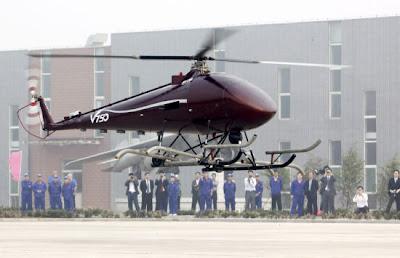 V750 unmanned helicopter