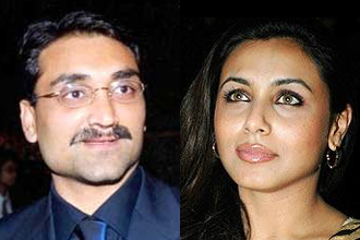 Hot Rani Mukherjee with boyfriend