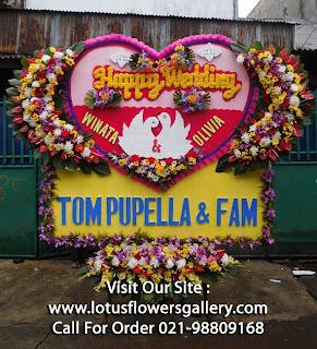 karangan Bunga Papan murah Ke Hotel JW Marriot