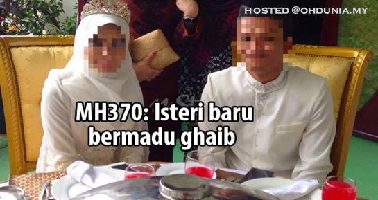 Suami Mangsa MH370 Terpaksa Berkahwin Di Sempadan Thailand