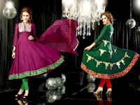Embroidered Anarkali Frocks