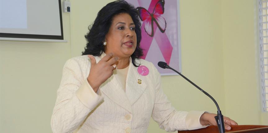 Cristina Lizardo, senadora 2016-2020
