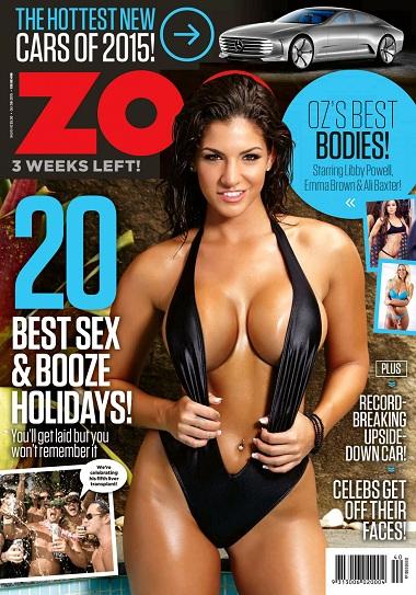 Zoo Weekly Australia 5 October Single Link, Direct Download Zoo Weekly Australia 5 October 2015, Zoo Weekly Australia 5 October