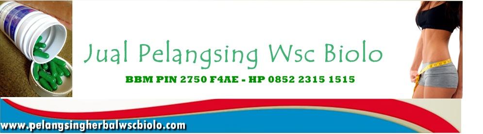 Obat Pelangsing Herbal, Wsc Biolo, Pelangsing Yang Aman