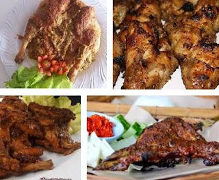 RESEP MASAKAN : Cara Membuat Ayam Panggang Klaten