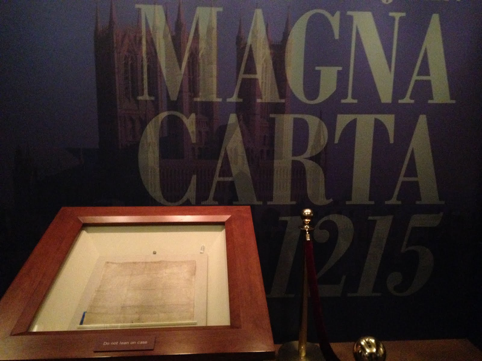 Magna Carta links