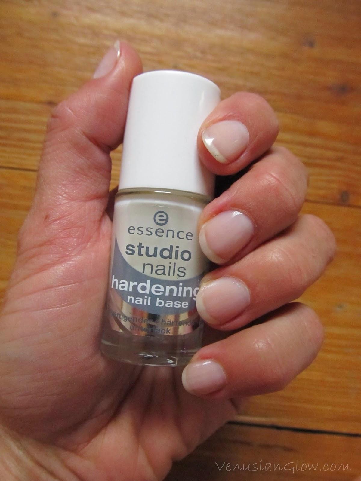 Super Easy Manicure Essence Studio Nails Hardening Nail Base