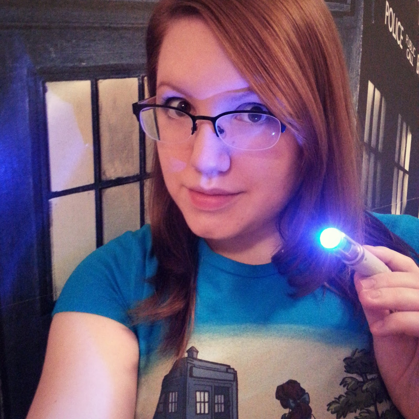 There's a TARDIS in my bedroom! (April Sprinkles)