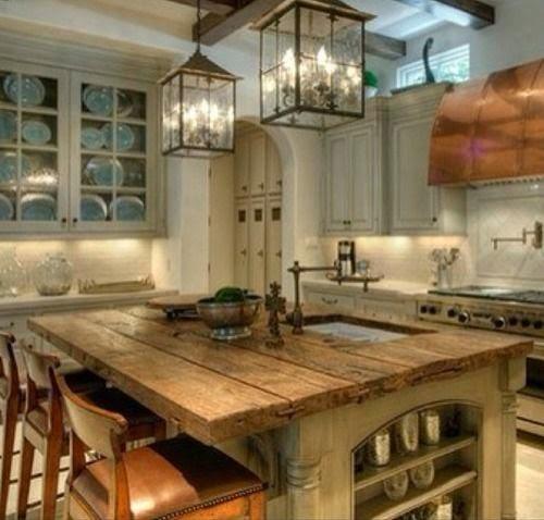 Decoración de Cocinas Rusticas  Cocina y Muebles