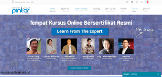 pengajar kursus online