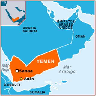 Arabia Saudita dispara contra Yemen