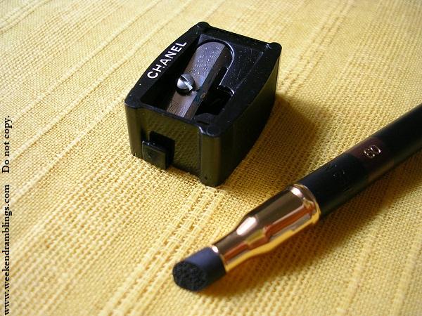 chanel le crayon yeux precision eye definer brun cuivre khaki dore bronze reviews swatches