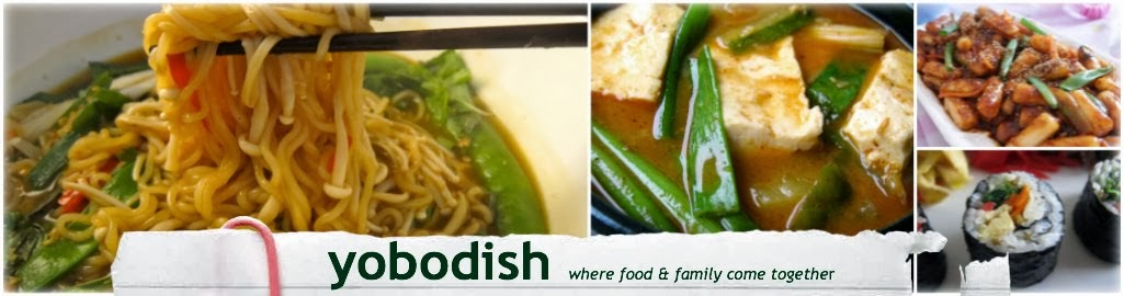 Yobodish Korean Recipes