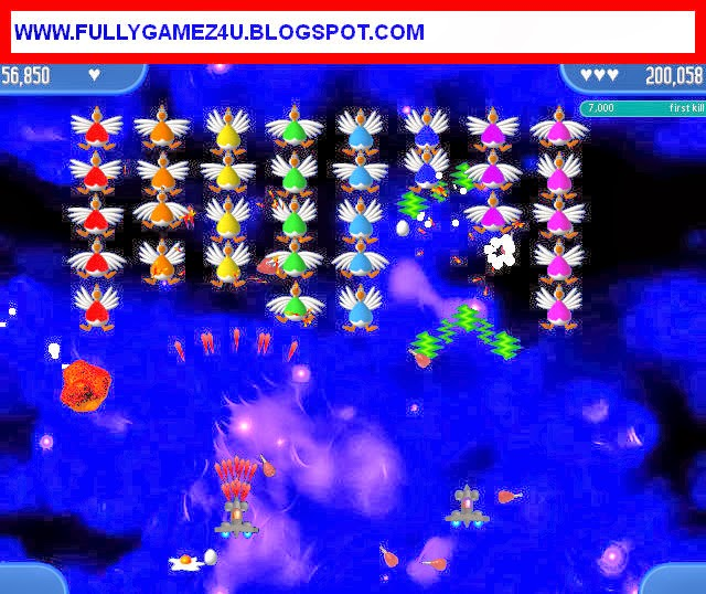Download Chicken Invaders 2 Game For Pc