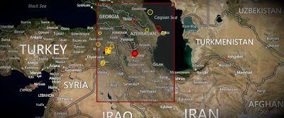 Epicentro sismo Irán, 07 de Noviembre 2012