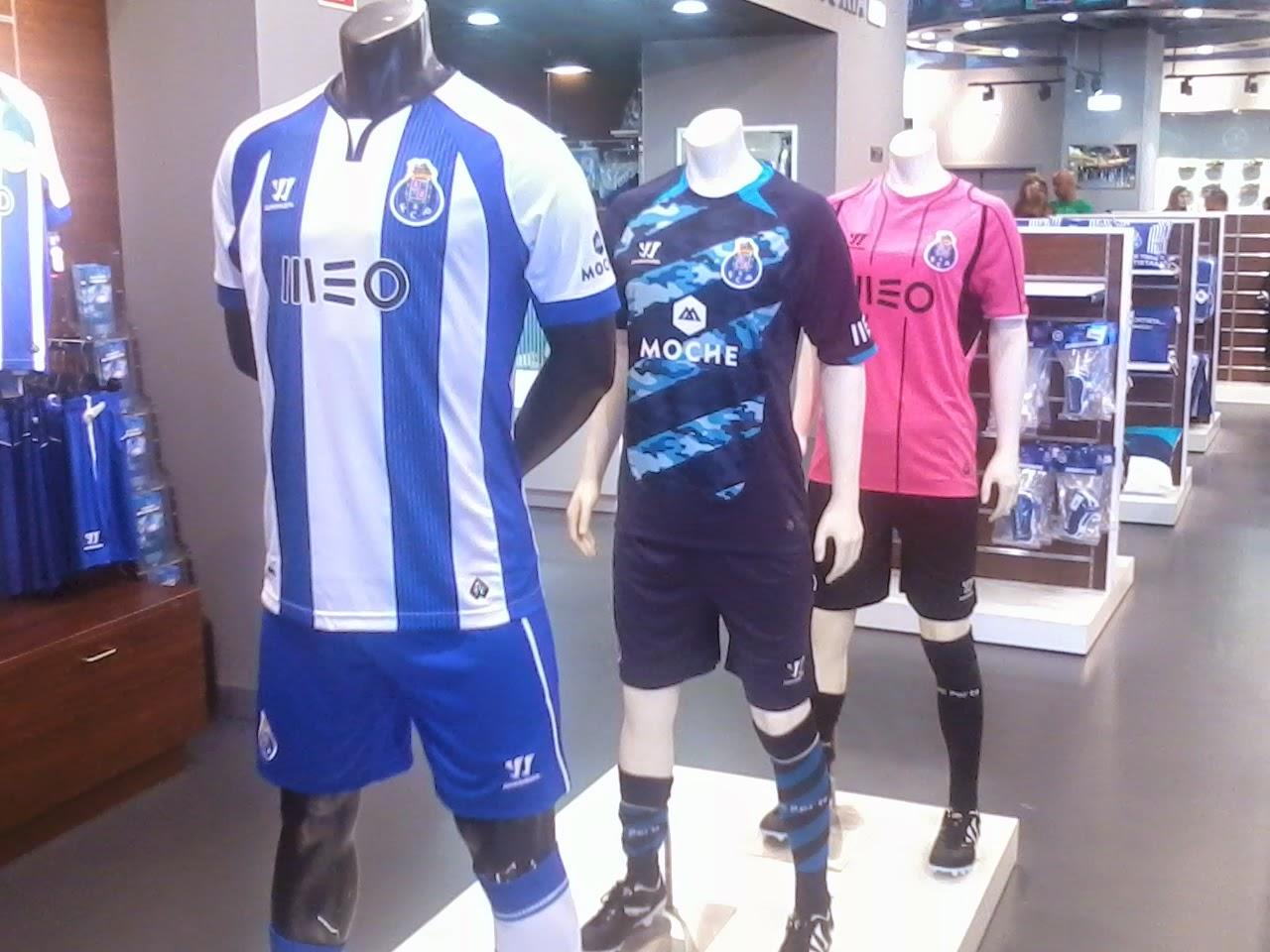 NOVOS EQUIPAMENTOS DO FC PORTO 2013/2014