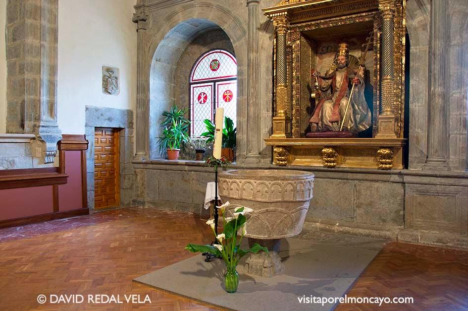 Capilla San Pedro Basílica de la Virgen de los Milagros de Agreda
