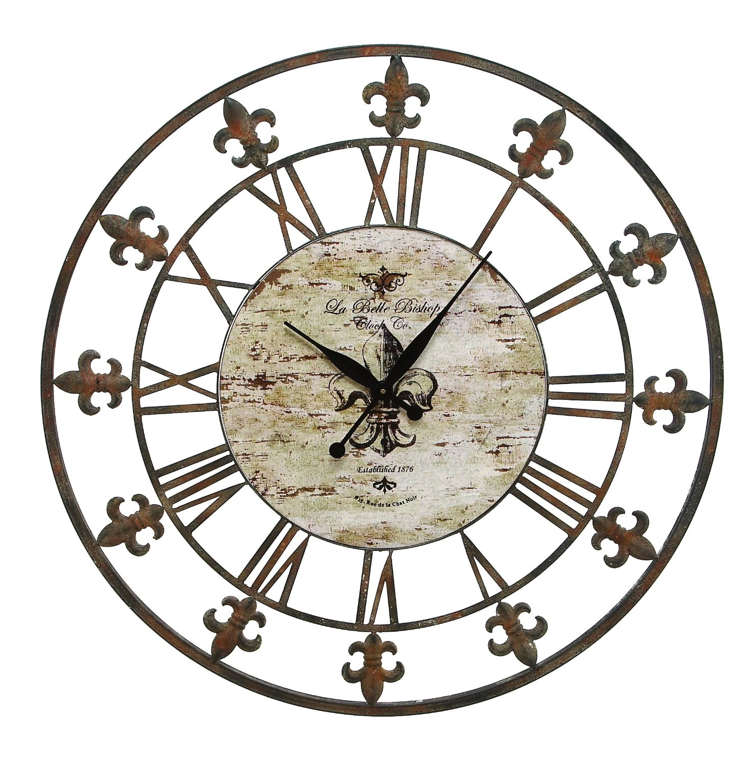 Total fab oversized giant metal wall clocks where oh where placing your decorative metal wall clock amipublicfo Image collections