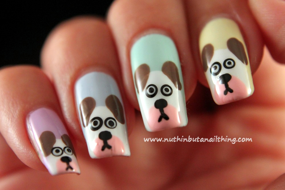 Nuthin but a nail thing dog nail art tutorial dog nail art tutorial dog nail art tutorial prinsesfo Gallery