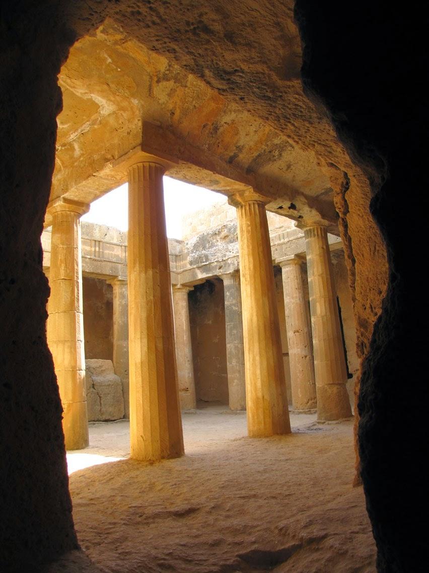 Chipre - Pafos - Tumbas de los Reyes