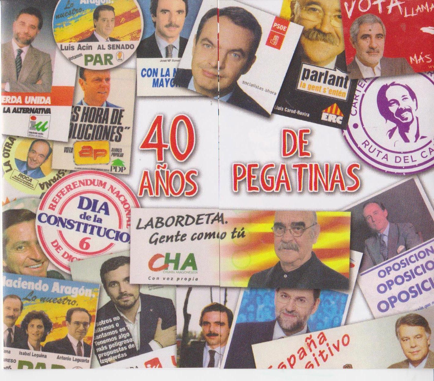 EXPOSICION 40 AÑOS DE PEGATINAS
