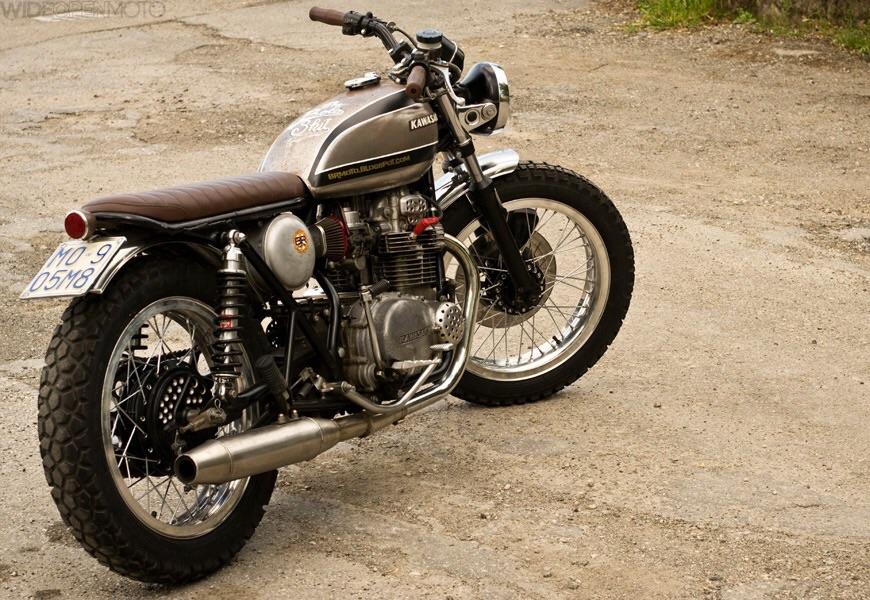 Kawasaki z400 the Bolo Shit