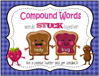 http://www.teacherspayteachers.com/Product/Compound-Words-words-stuck-together-like-a-PB-J-sandwich-203123