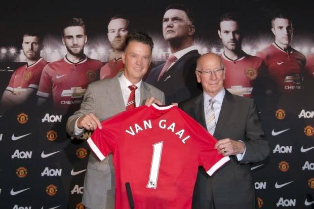 Van Gaal Pasang Kamera Awasi Pemain Man United Ketika Latihan