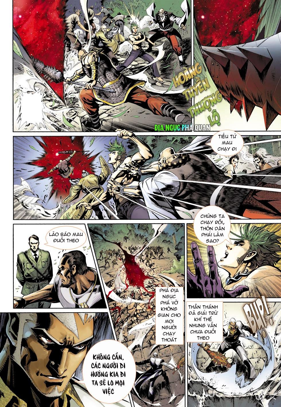 Thần Binh 4 chap 25 - Trang 18