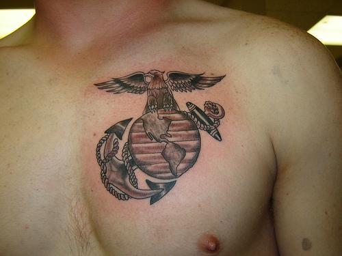 USMC Tattoos Designs And MeaningUsmc Tattoos Ideas