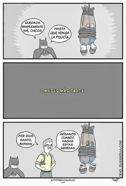 Batman y sus métodos