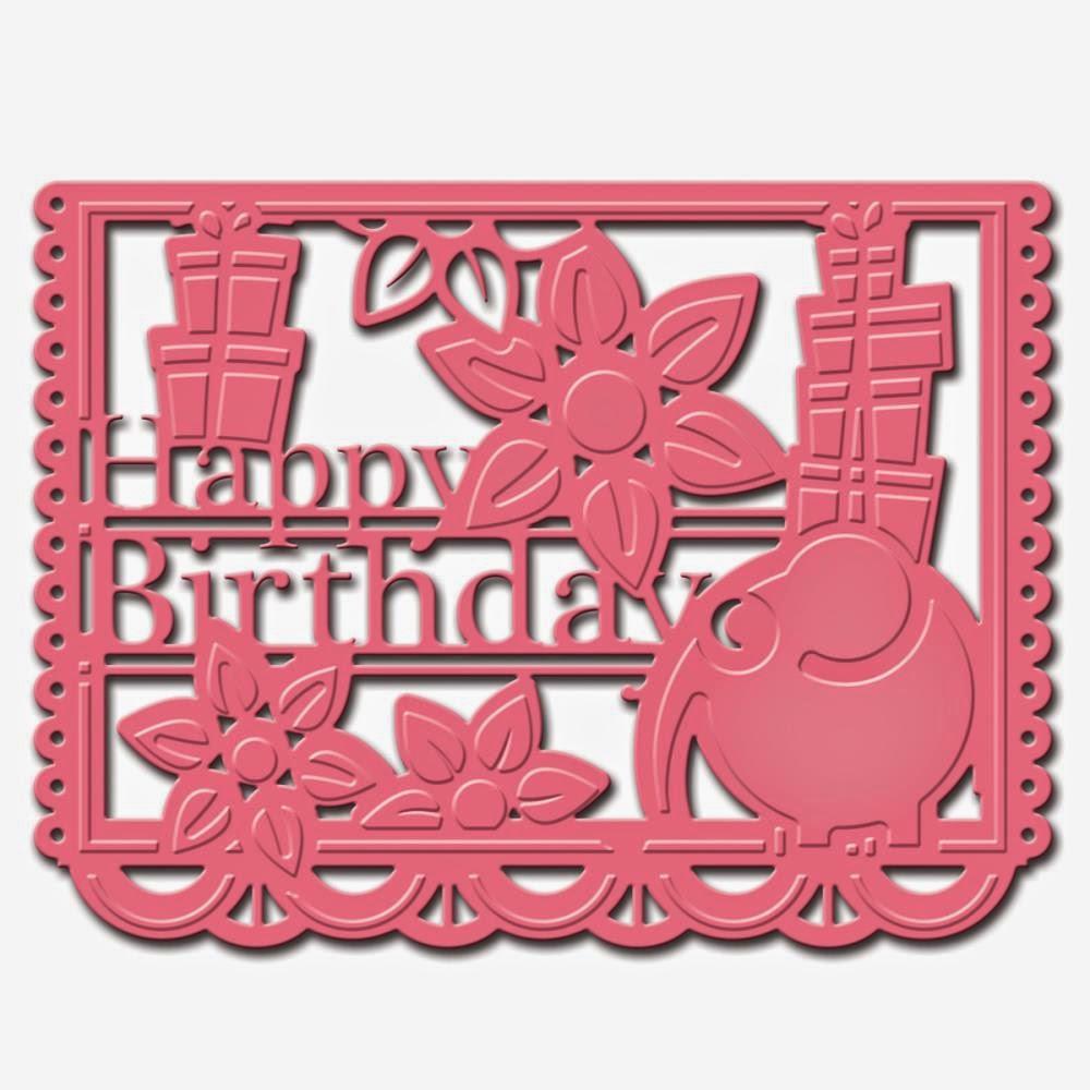 SpellbindersSCD034 - Papel Birthday die