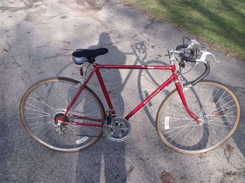 Hugh S Bicycle Blog Sears Free Spirit Korean Lugged Frame