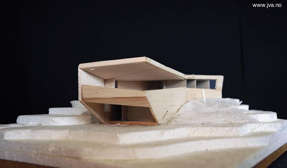 Arquitectura de casas casa ultra moderna en noruega for Casa minimalista maqueta