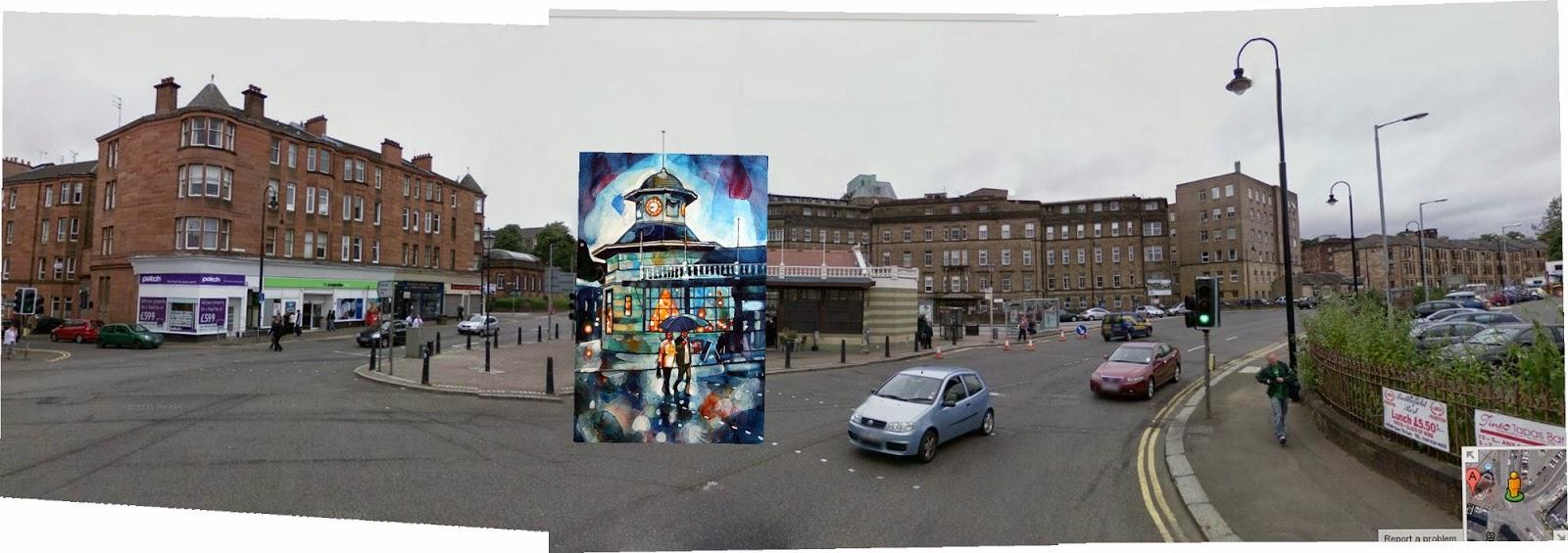 Bryan Evans , Battlefield Rest , Glasgow