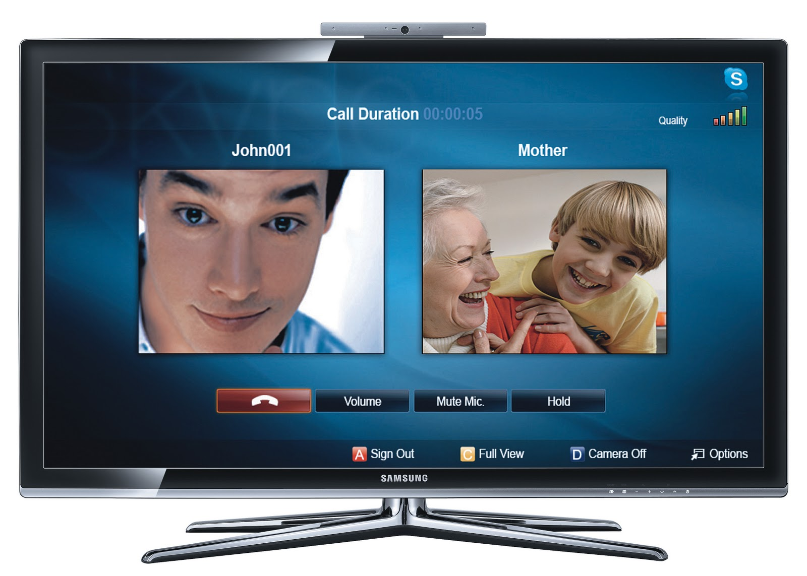 Skype on Samsung TV: Enjoy the convenience and connectivity of free