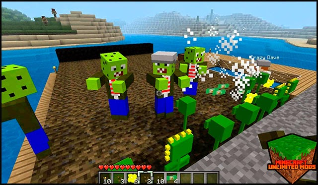 Plantas vs Zombies Mod