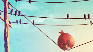 Angry Birds Wallpaper PowerPoint Background-8