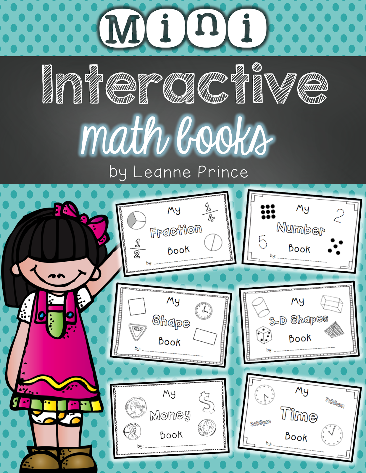 http://www.teacherspayteachers.com/Product/Mini-Interactive-Math-Books-1318793