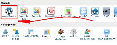 Cara membuat Blog Wordpress Hosting sendiri
