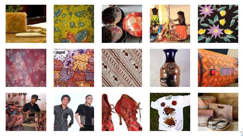 Beragam Kreasi Batik Indonesia