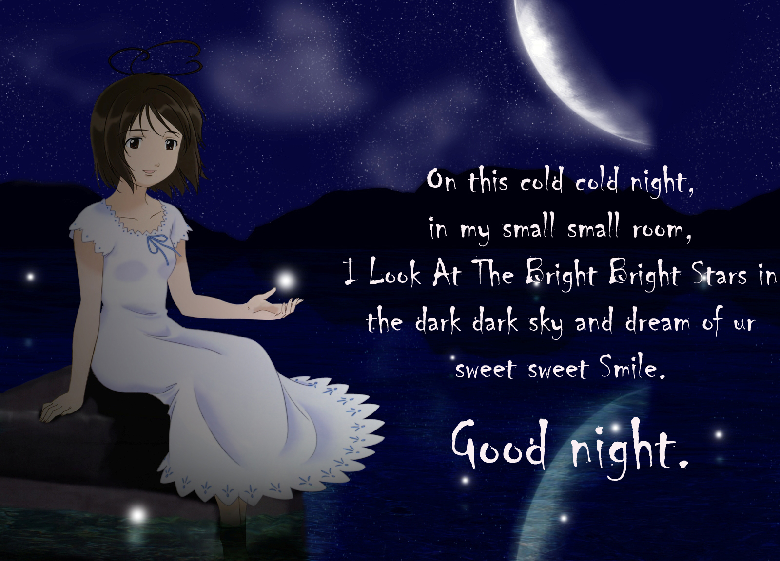 Good Night Wishes Messages Cards, SMS Images - Festival Chaska